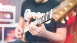 Electric Guitar Session Musician